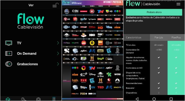 Cablevisión Flow, la plataforma más esperada