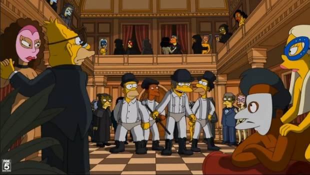 Los Simpsons y el cine, un solo corazón