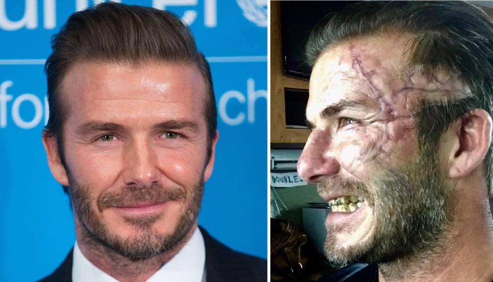 Beckham mostró cómo será su papel en El Rey Arturo