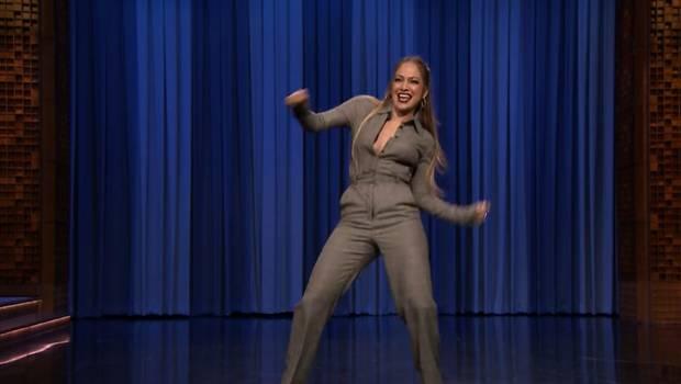 El desopilante baile de Jennifer López