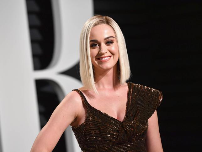 Katy Perry junto a Ryan Phillippe