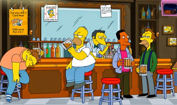 Abrieron un bar que recrea La Taberna de Moe
