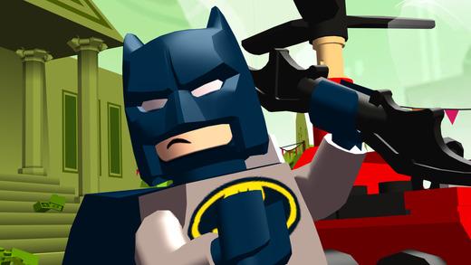 """la versión """"The Batman Lego Movie"""" para iTunes"""