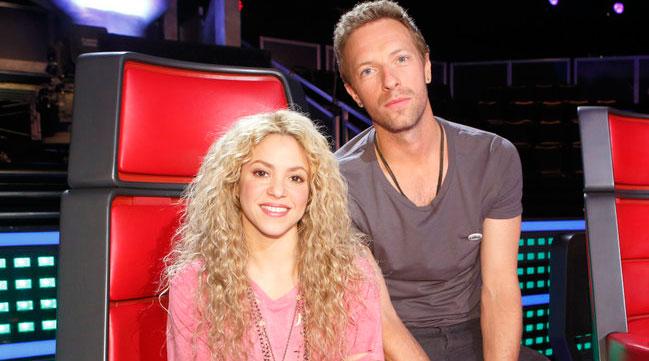 """Chris Martin bailó """"Me Enamoré"""" de Shakira"""