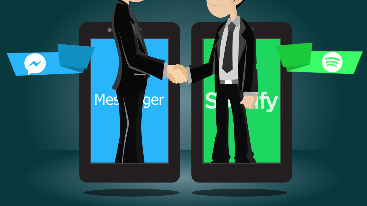 Nueva alianza entre Facebook y Spotify