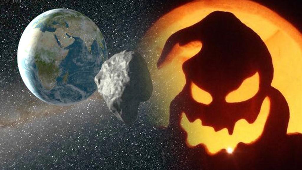 El famoso asteroide de Halloween