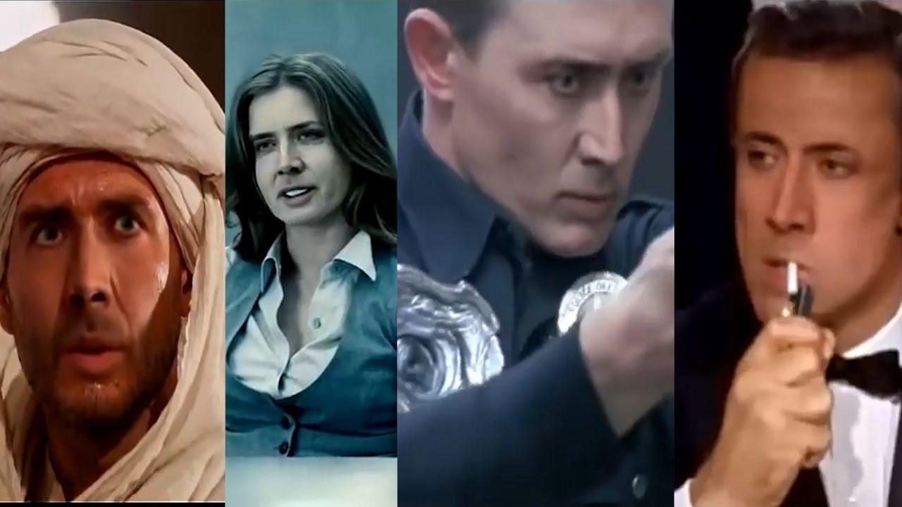 El mundo del cine en un solo actor, el gran Nicolas Cage