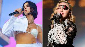 Dua Lipa cumplió su fantasía con Madonna